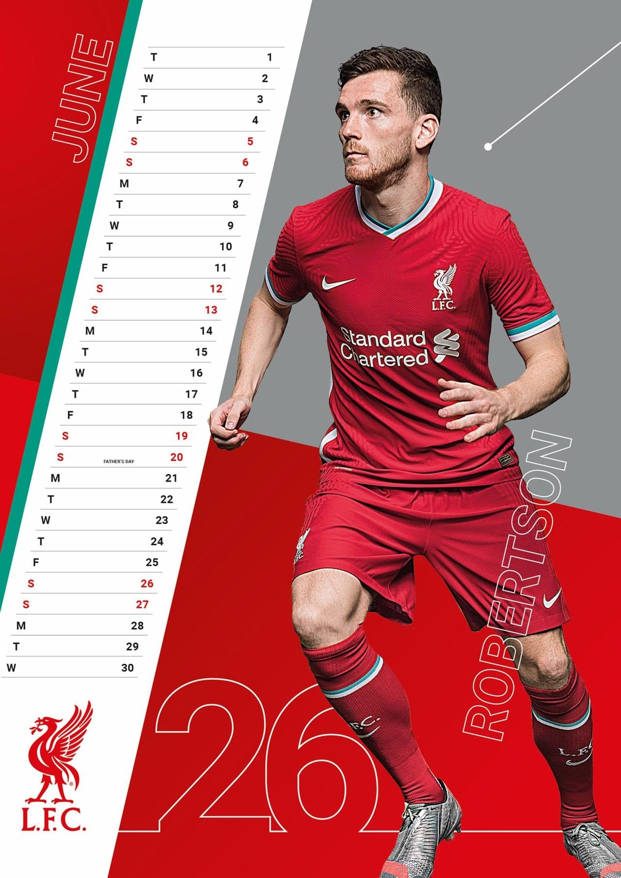 Liverpool FC: Football A3 2021 Calendar - 2