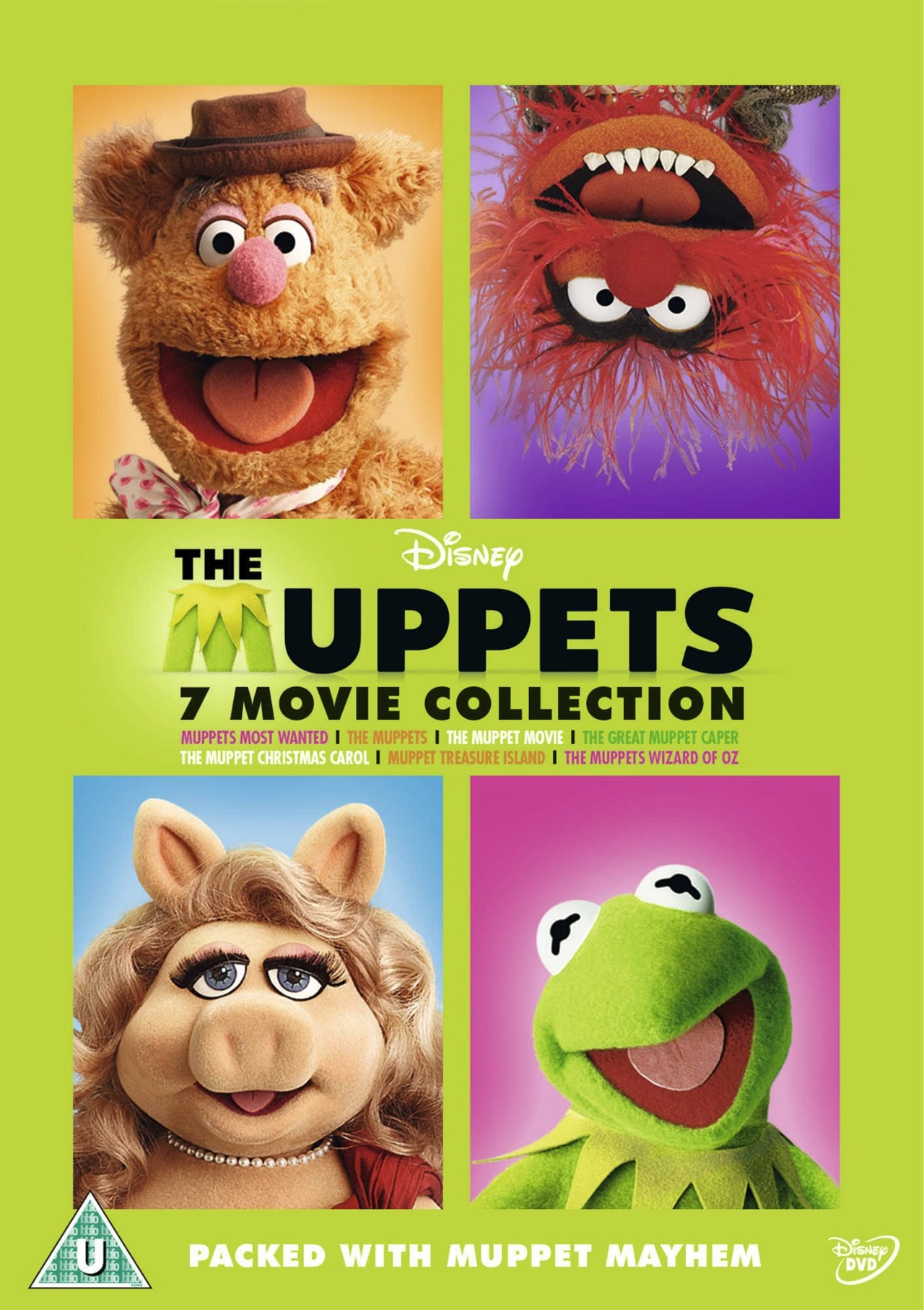 The Muppets Bumper Seven Movie Collection - 1