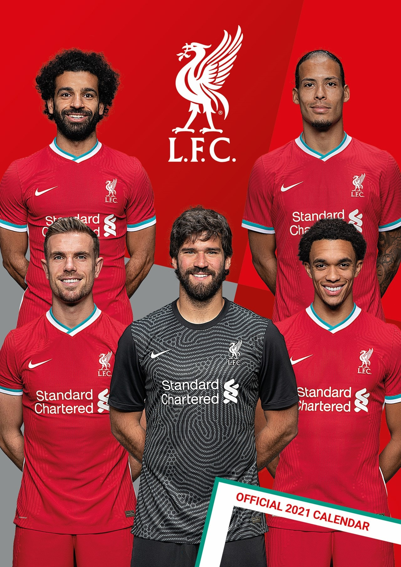 Liverpool FC: Football A3 2021 Calendar - 1