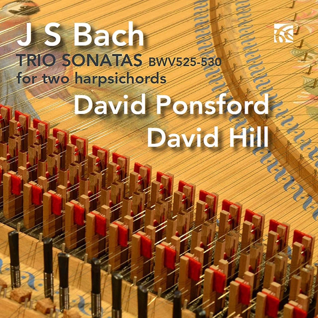 J.S. Bach: Trio Sonatas BWV525-530 for Two Harpsichords - 1