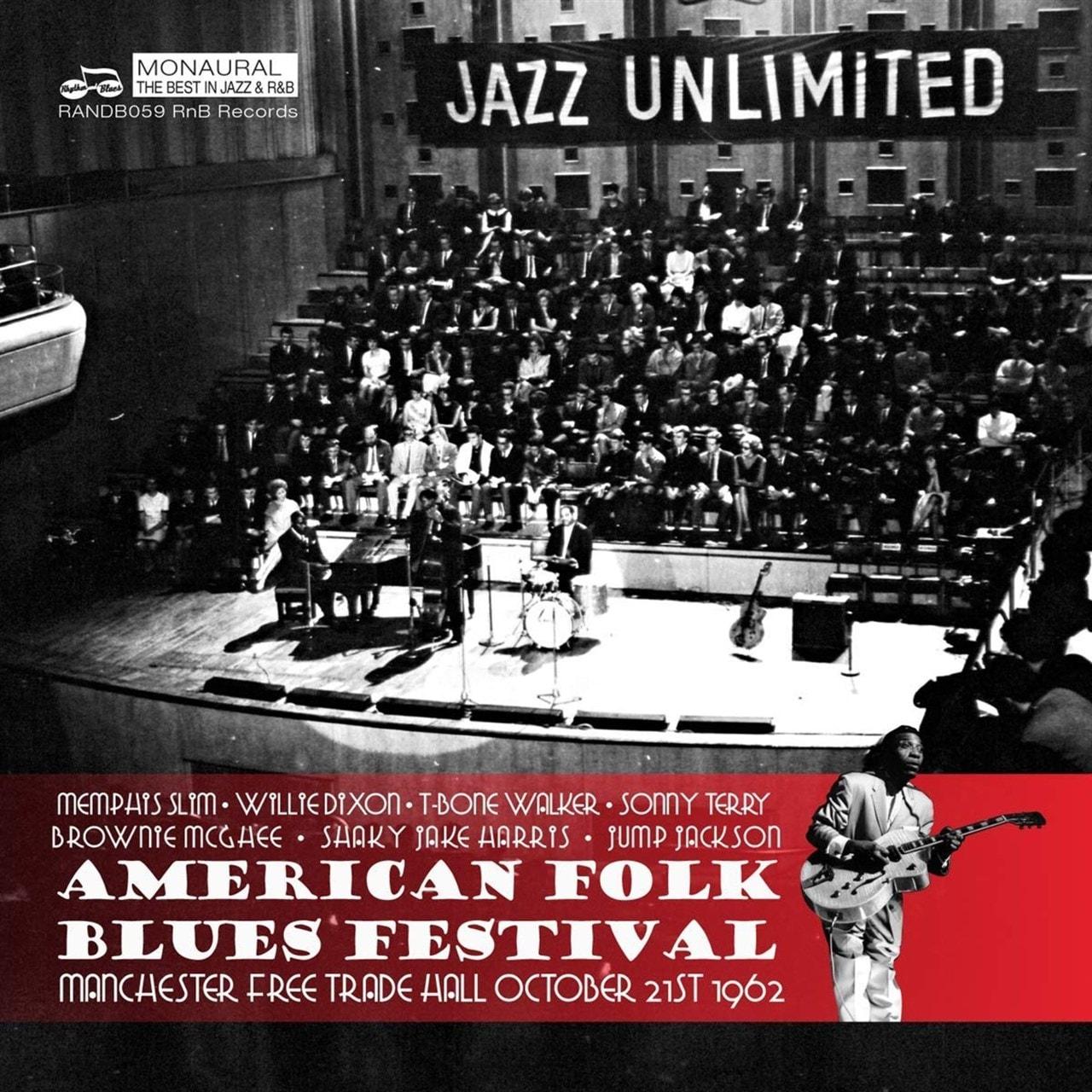 American Folk Blues Festival: Live in Manchester 1962 - 1