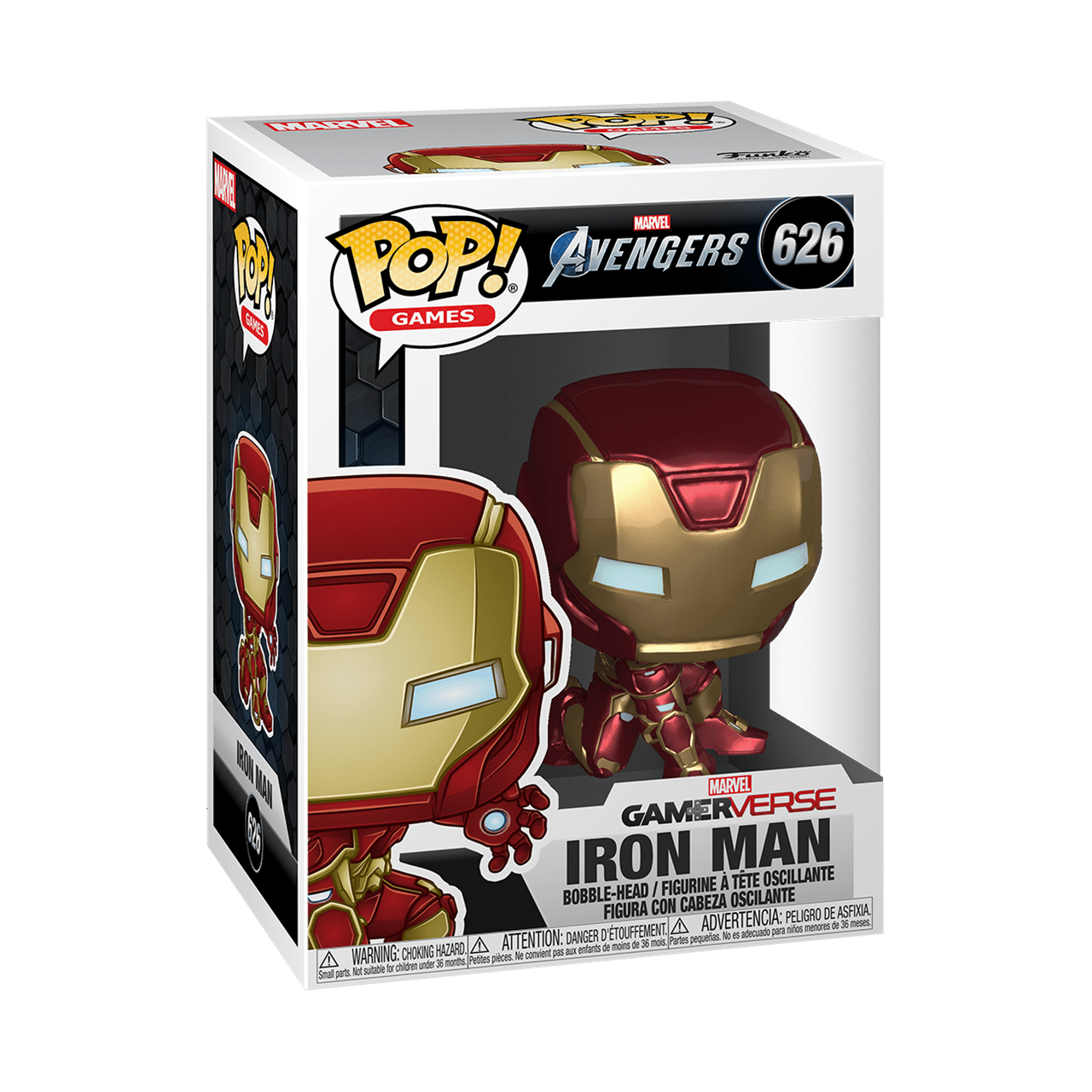 Iron Man (626) Avengers Gamerverse Marvel Pop Vinyl - 2