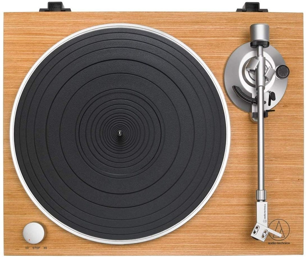 Audio Technica AT-LPW30 Wood Turntable - 2
