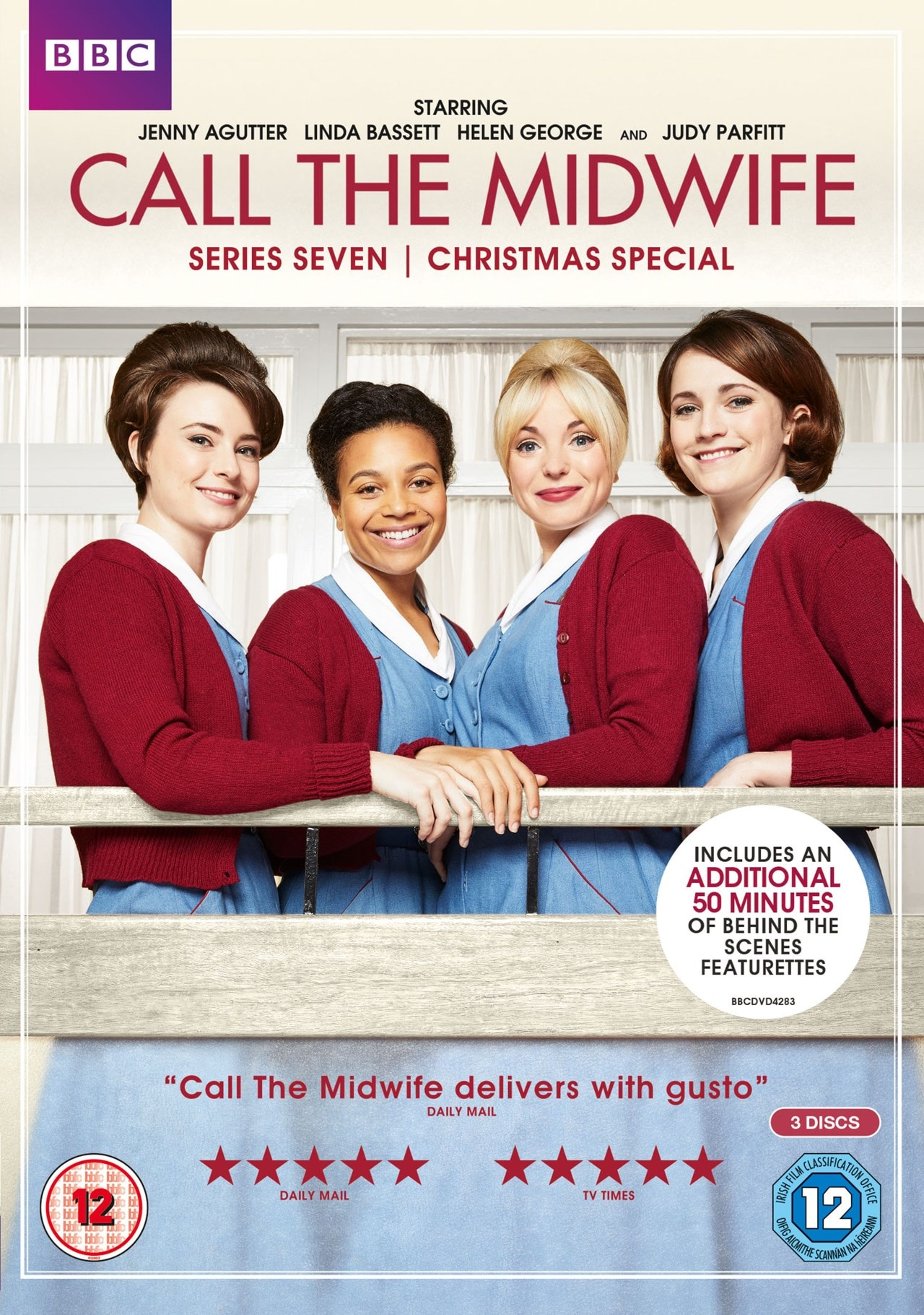 Call The Midwife Series Seven Dvd Box Set Free Shipping Over 20 Hmv Store