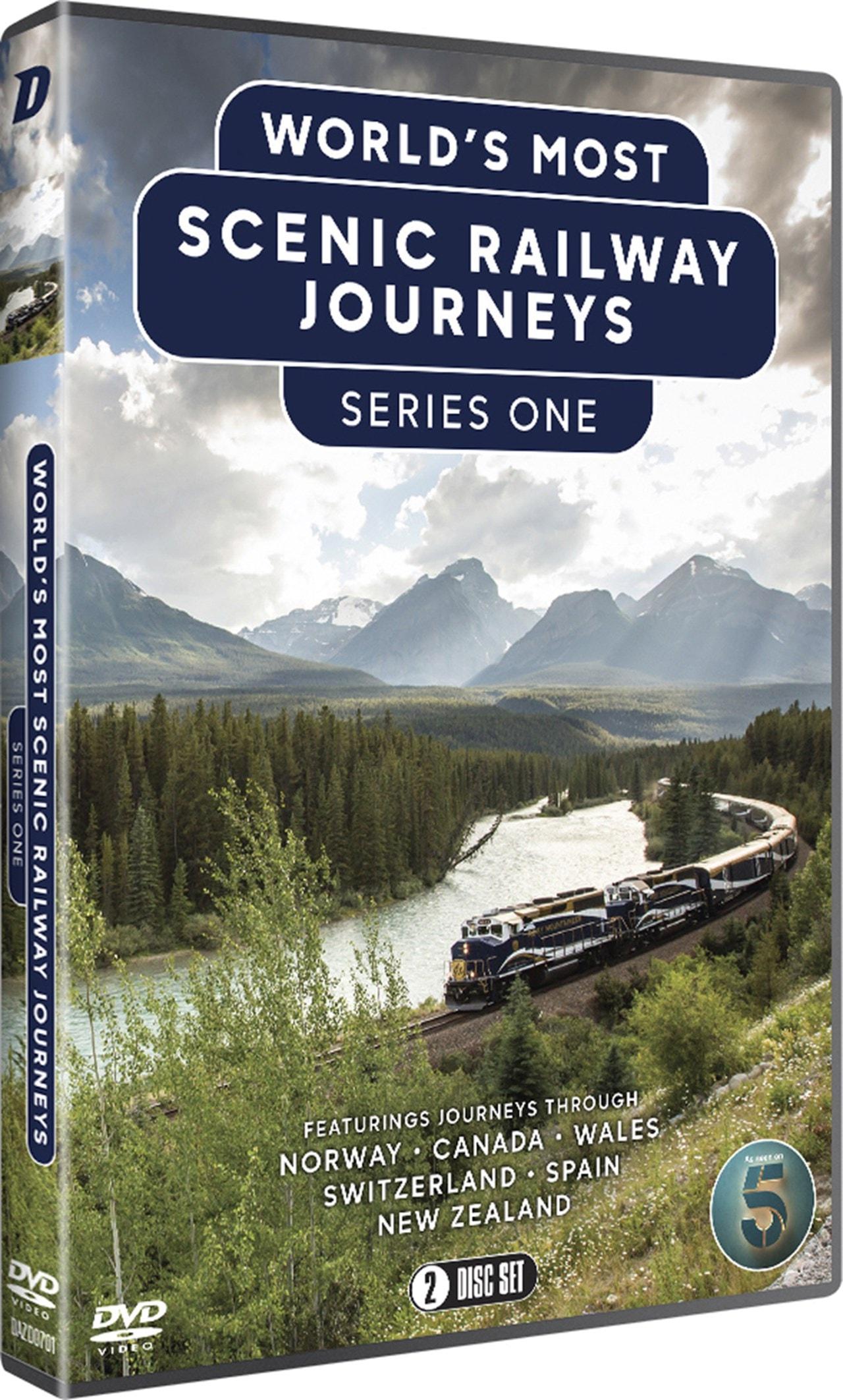 The World's Most Scenic Railway Journeys: Series 1 - 2