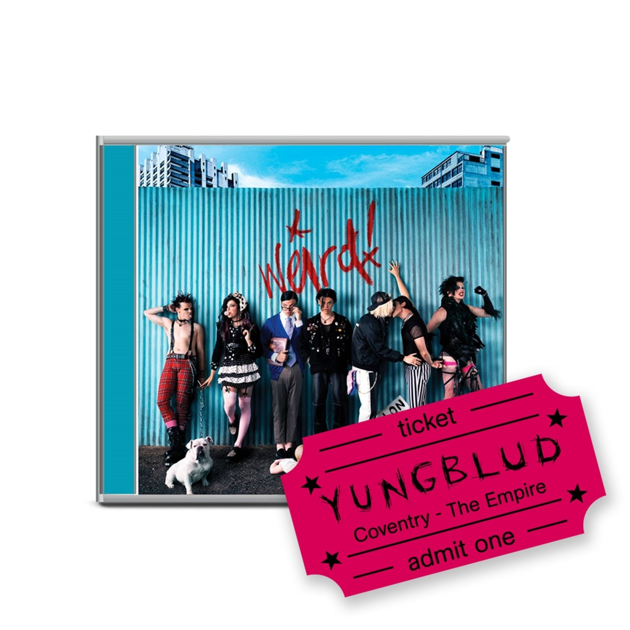 Yungblud - Weird! - CD & Coventry Empire e-Ticket - 1