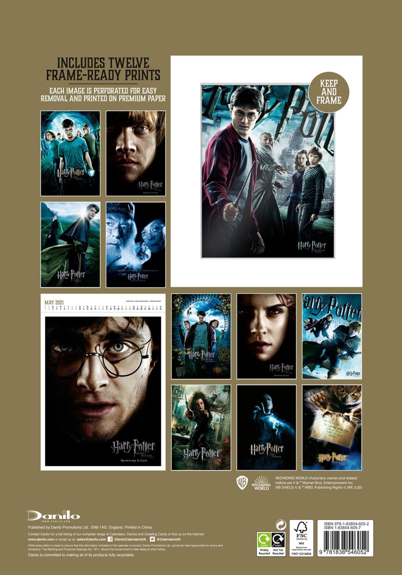 Harry Potter: A3 Deluxe 2021 Calendar - 3