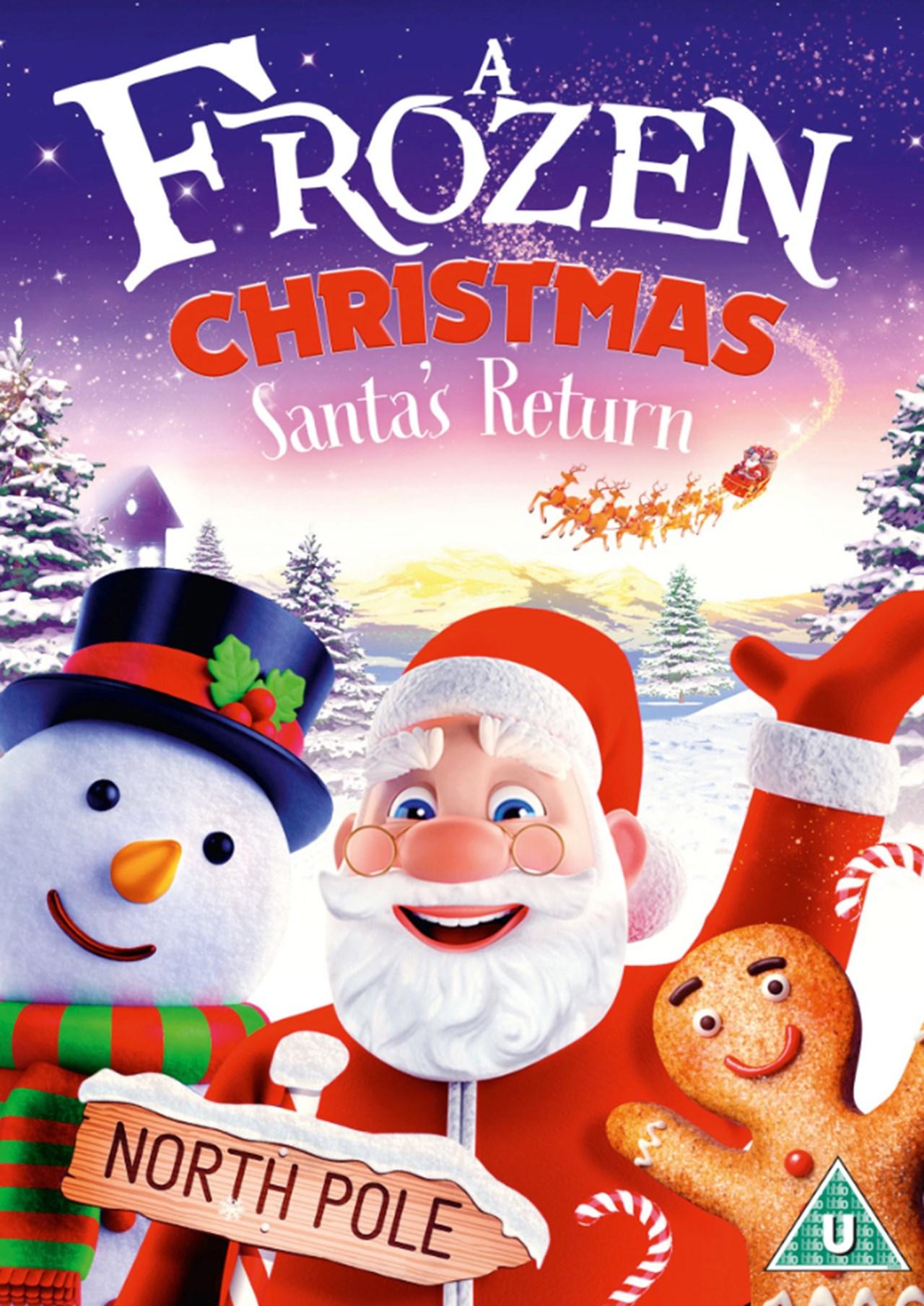 A Frozen Christmas: Santa's Return - 1