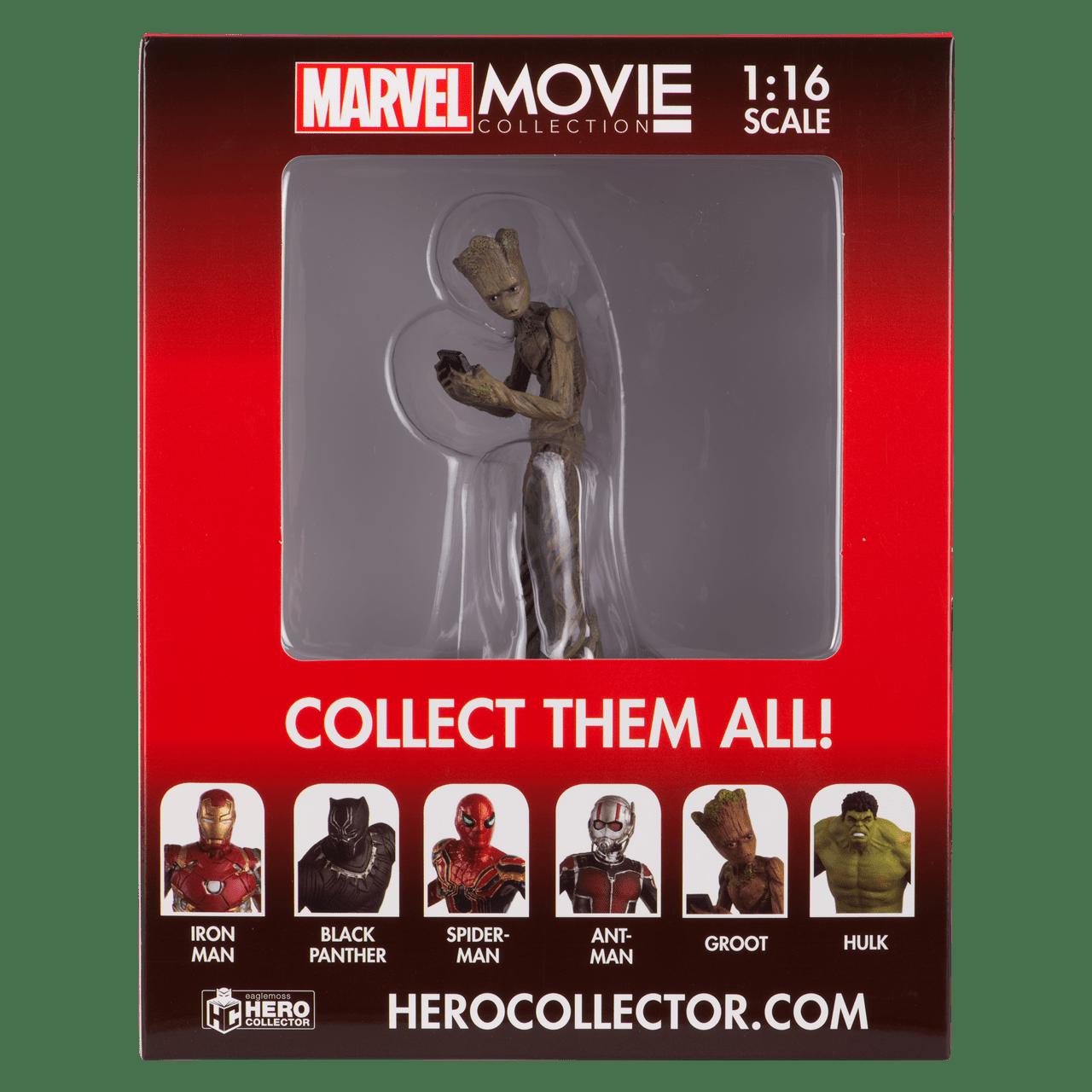 Teenage Groot: Marvel Figurine: Hero Collector - 3