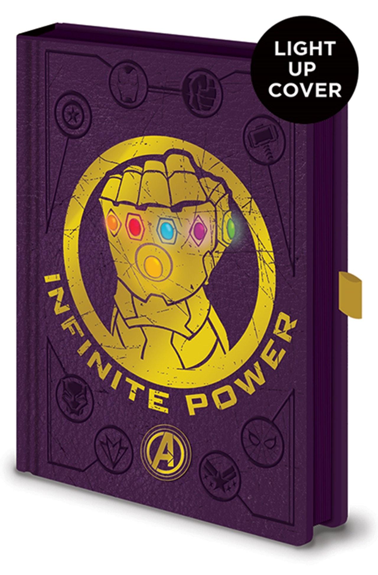 Avengers: Infinity War Gauntlet Light Up Premium A5 Notebook - 1