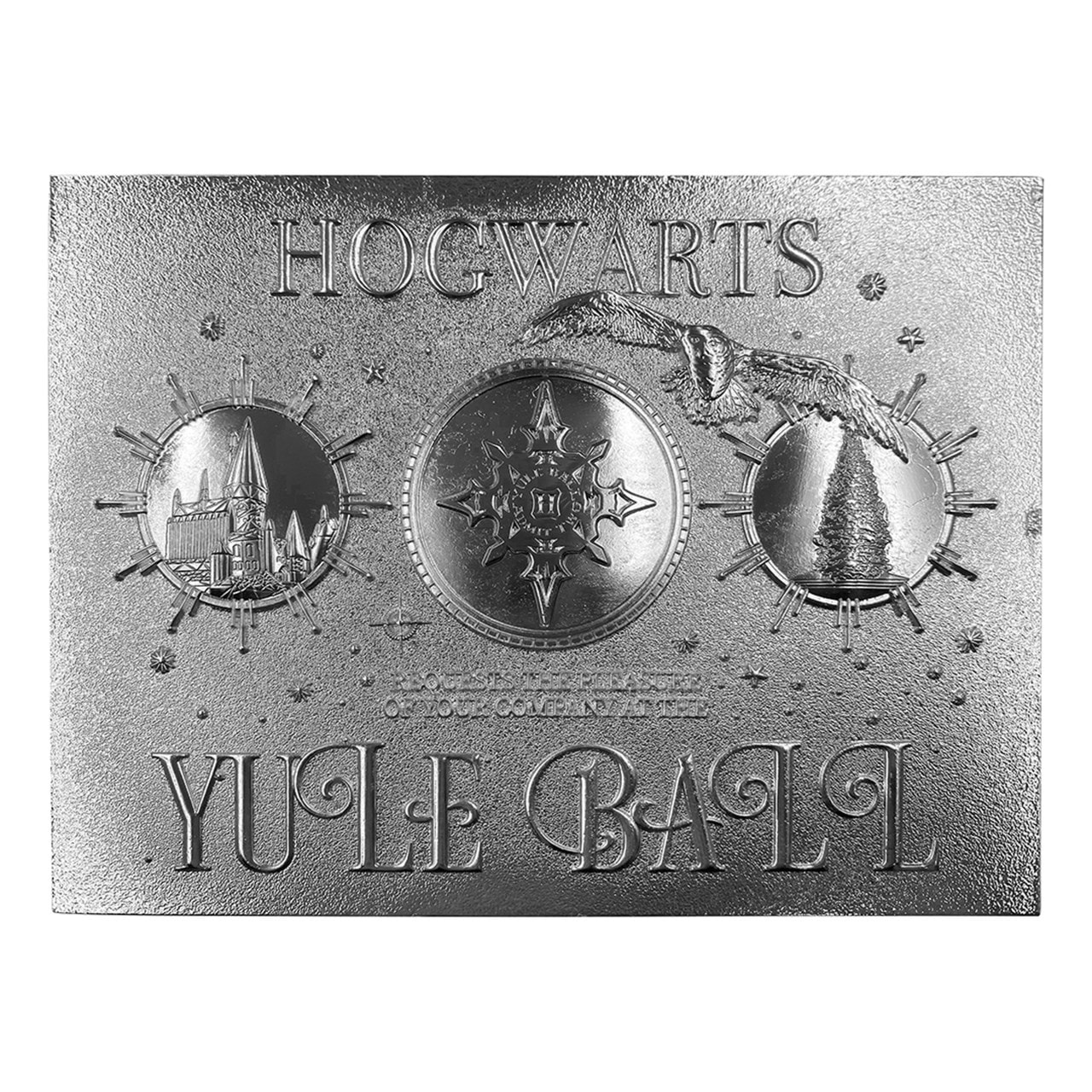 Harry Potter: Silver Plated Yule Ball Ticket Metal Replica (online only) - 2