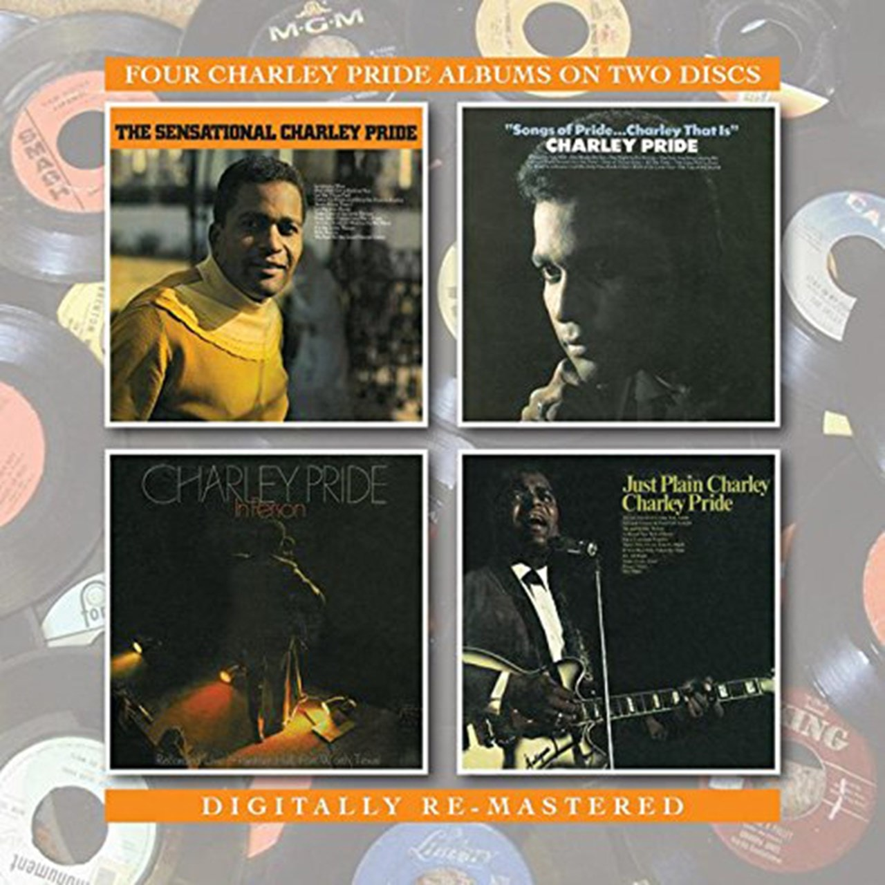 Four Charley Pride Albums - 1