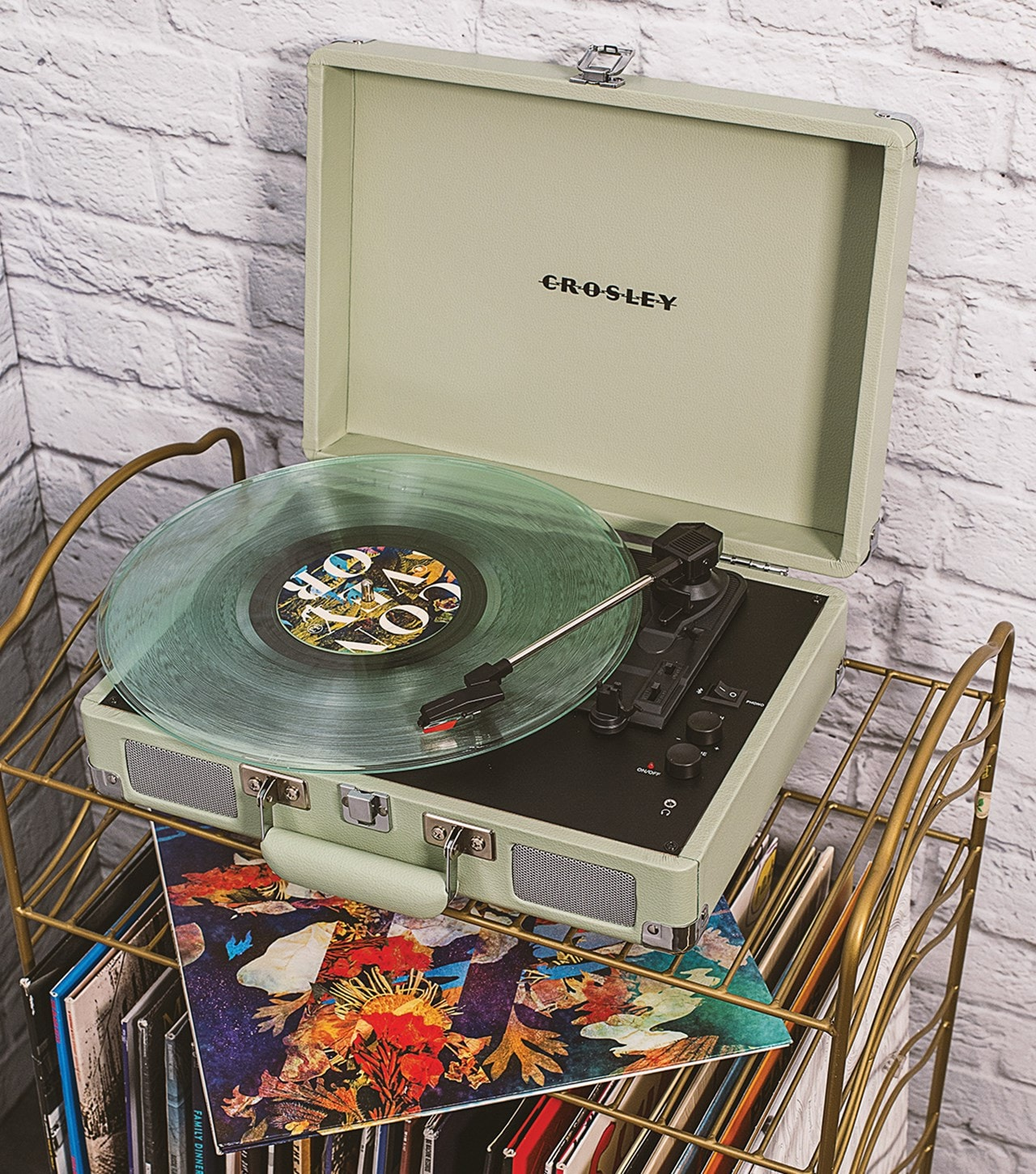 Crosley Cruiser Deluxe Mint Turntable - 3
