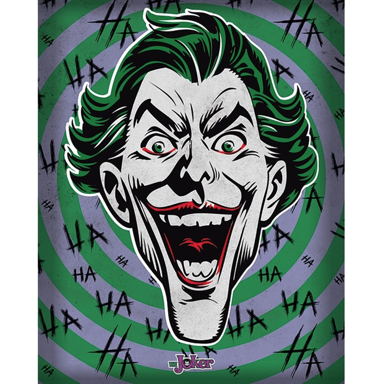 The Joker: Hahaha Canvas Print - 1