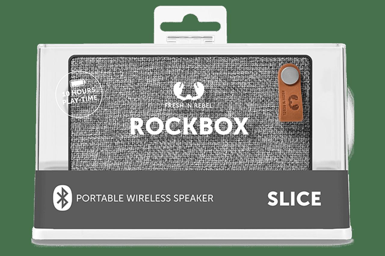 Fresh N Rebel Rockbox Slice Concrete Bluetooth Speaker - 2