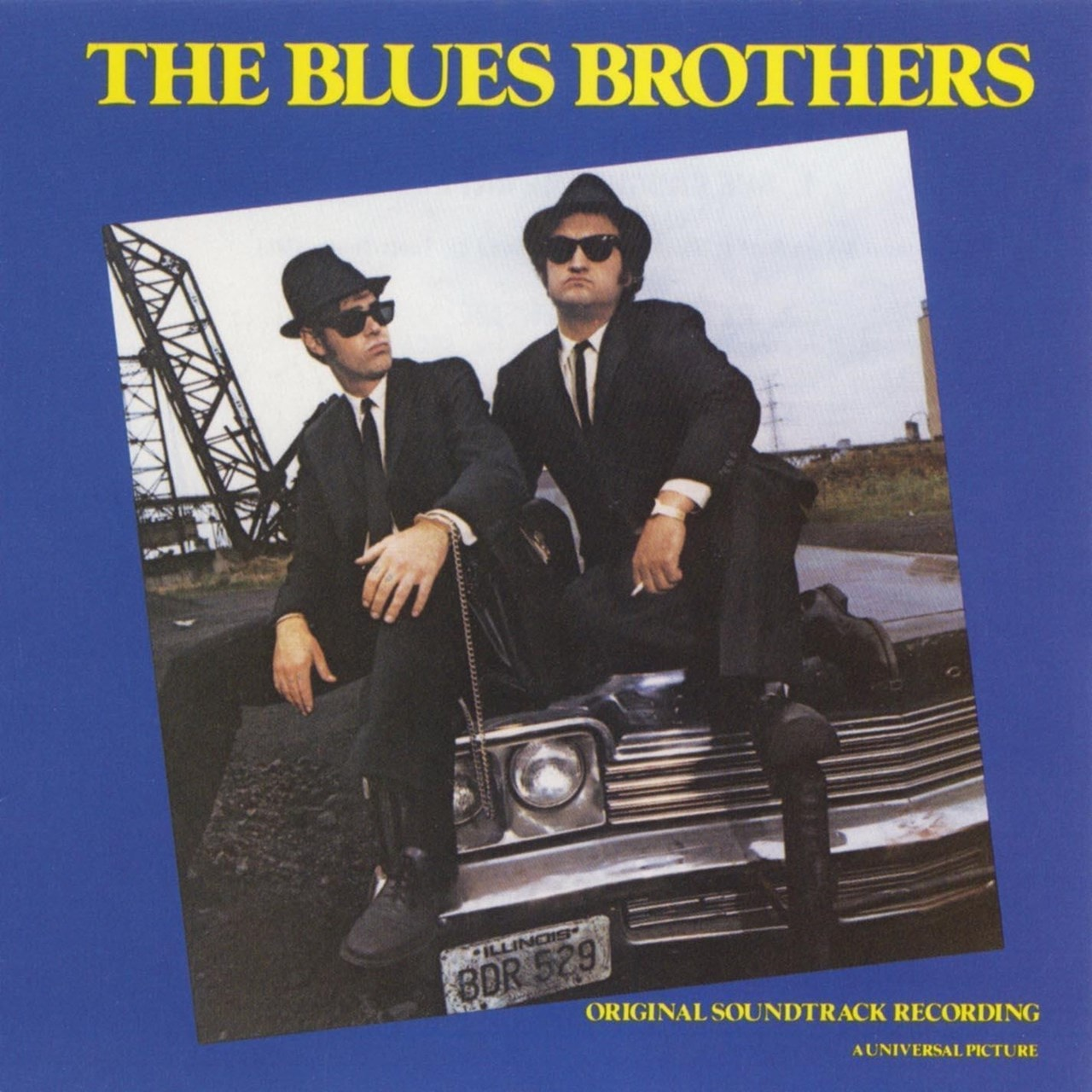 The Blues Brothers - Limited Edition Transparent Blue Vinyl (NAD20) - 1