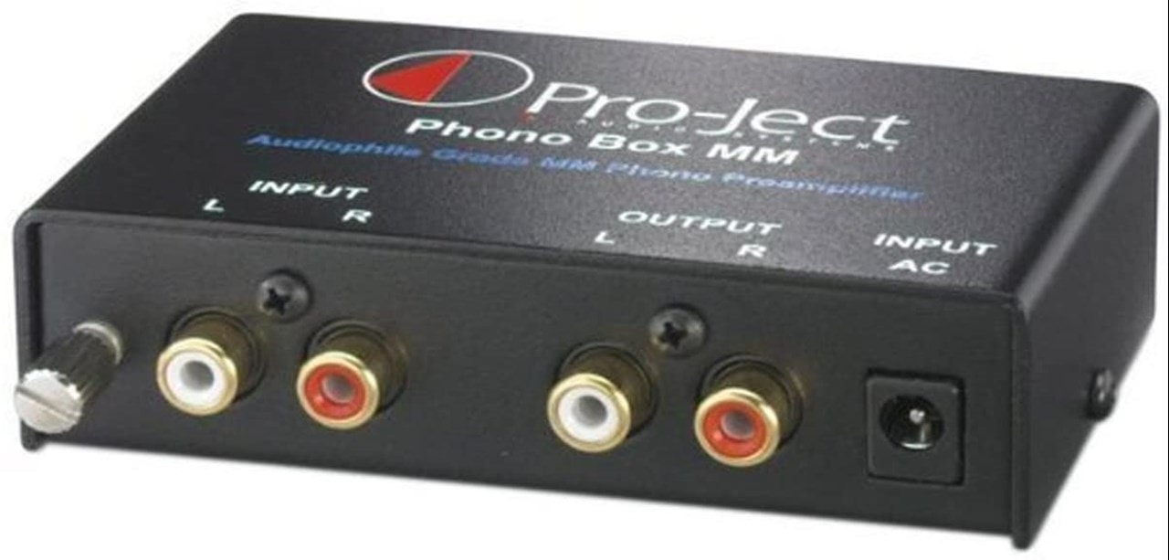 Pro-Ject Phono Box MM Pre-Amplifier - 1