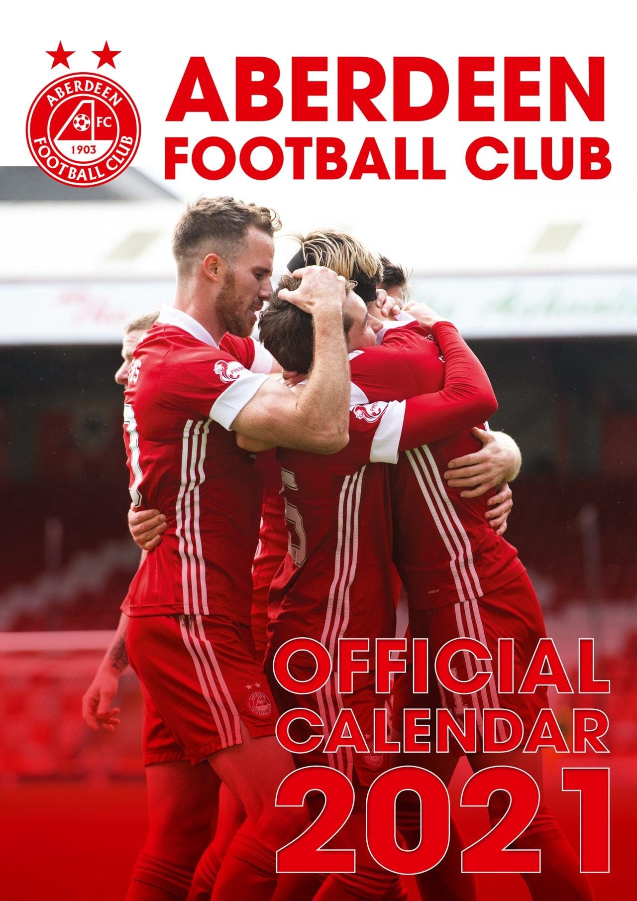 Aberdeen FC: Football A3 2021 Calendar - 1