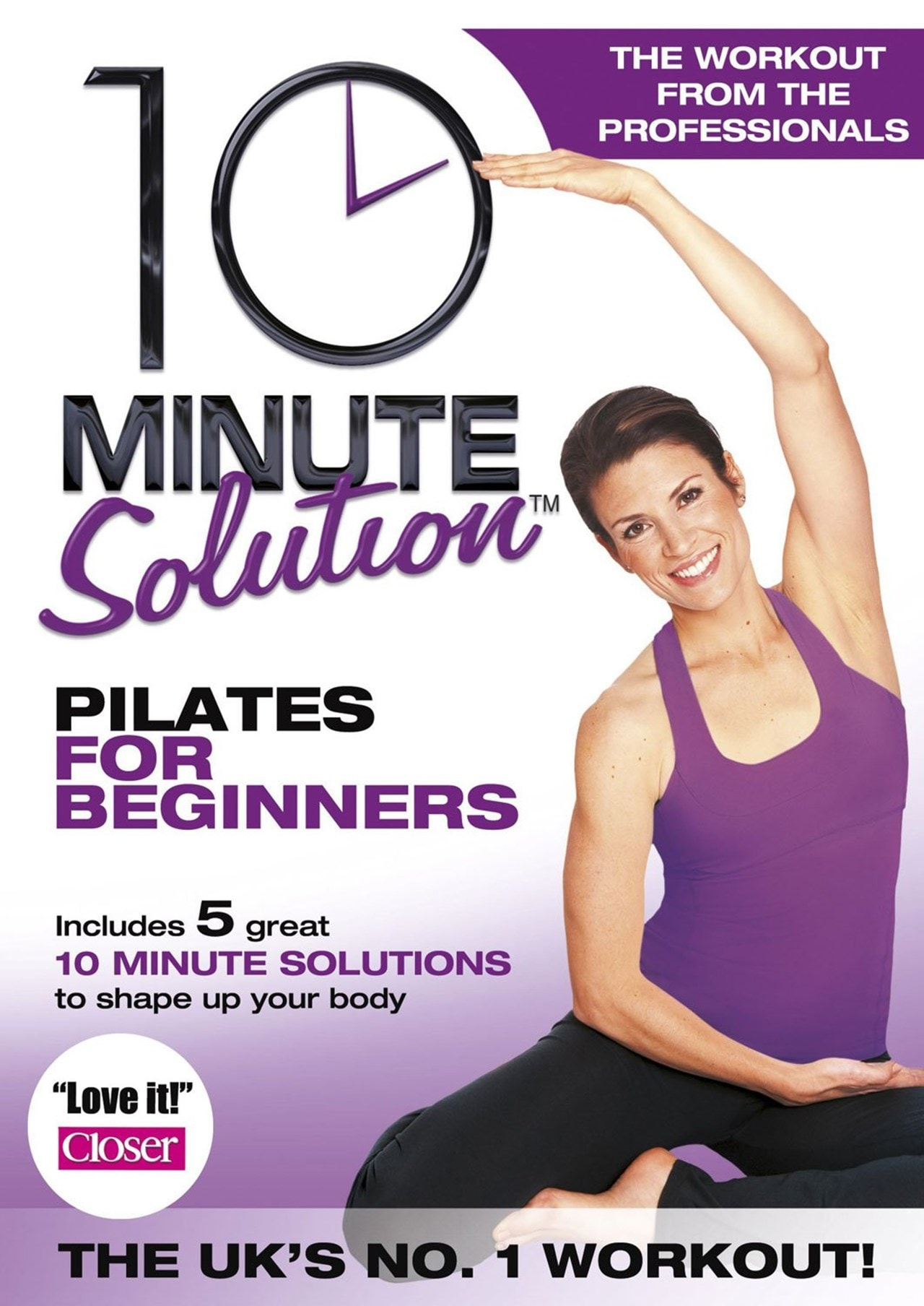 10 Minute Solution: Pilates for Beginners - 1