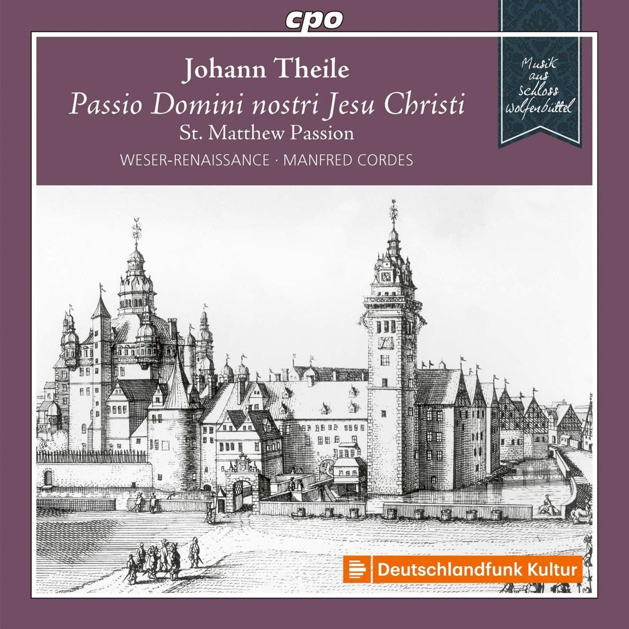 Johann Theile: Passio Domini Nostri Jesu Christi - 1