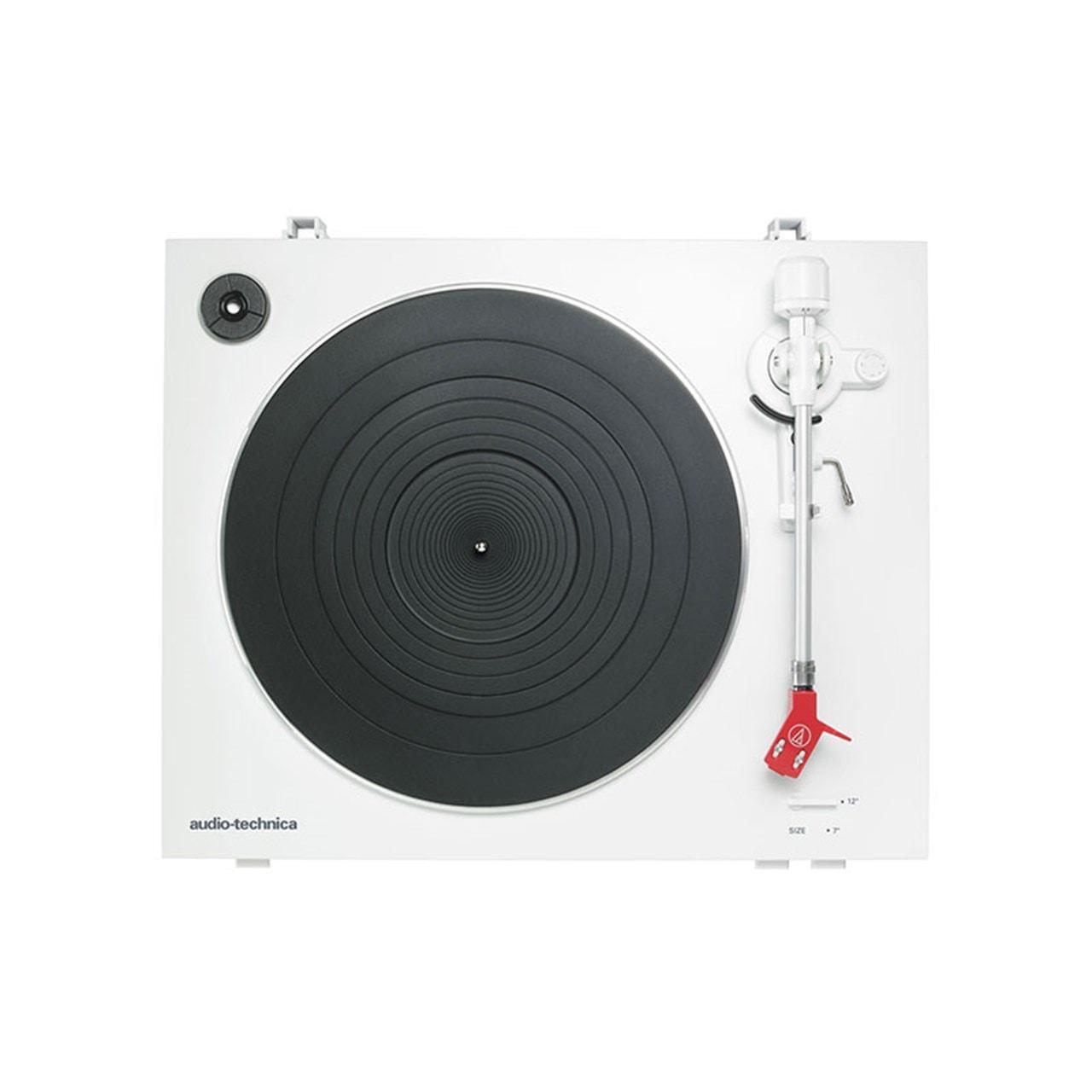 Audio Technica AT-LP3 White Turntable - 2
