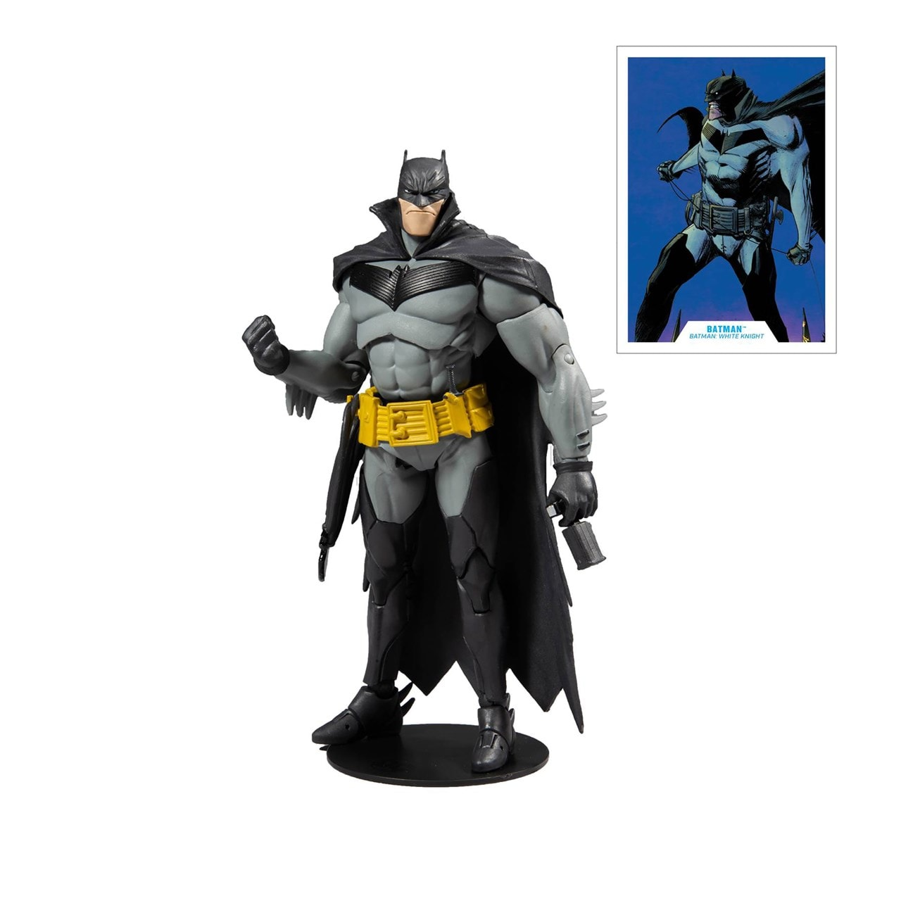 White Knight: Batman (DC Multiverse) Action Figure - 2