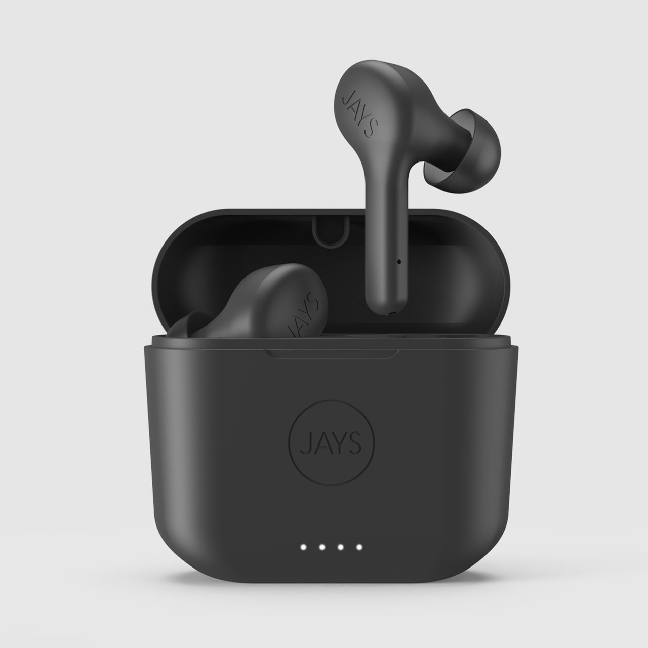 Jays F-Five Black True Wireless Bluetooth Earphones - 1