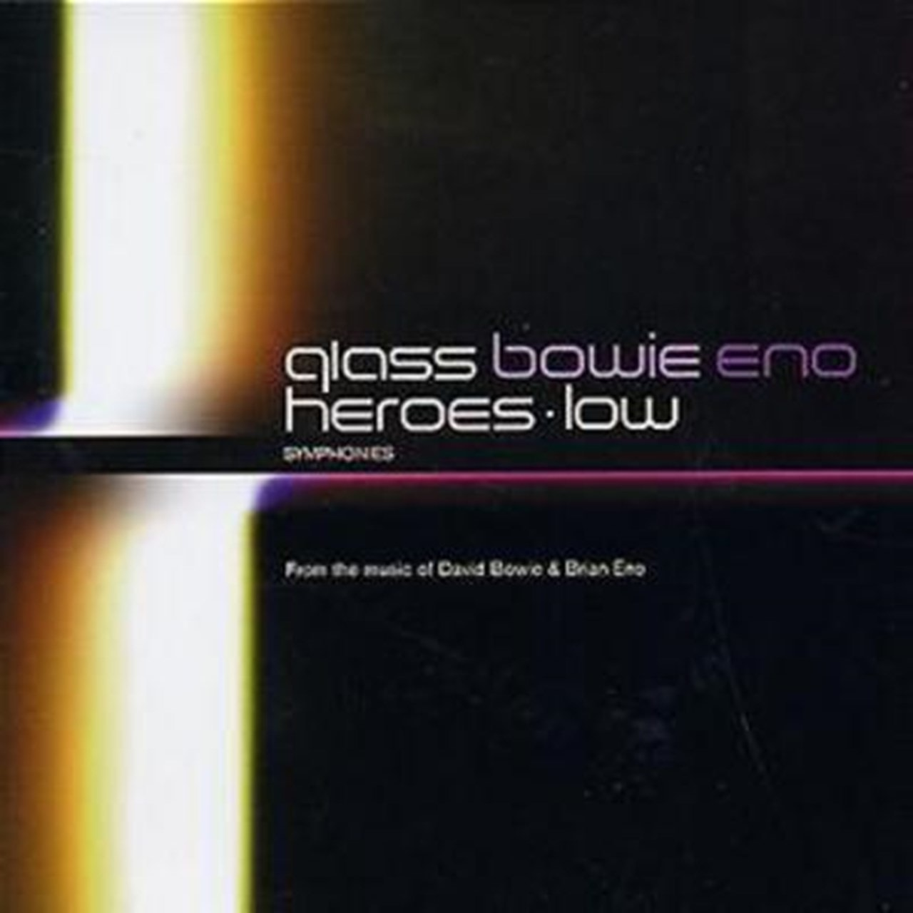 Glass/Bowie/Eno: Heroes/Low - Symphonies - 1