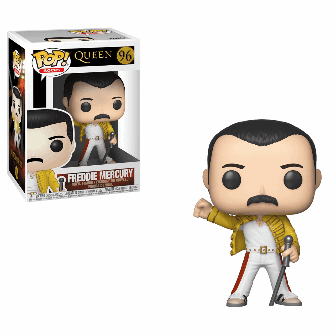 Freddie Mercury at Wembley (96) Queen Pop Vinyl - 1