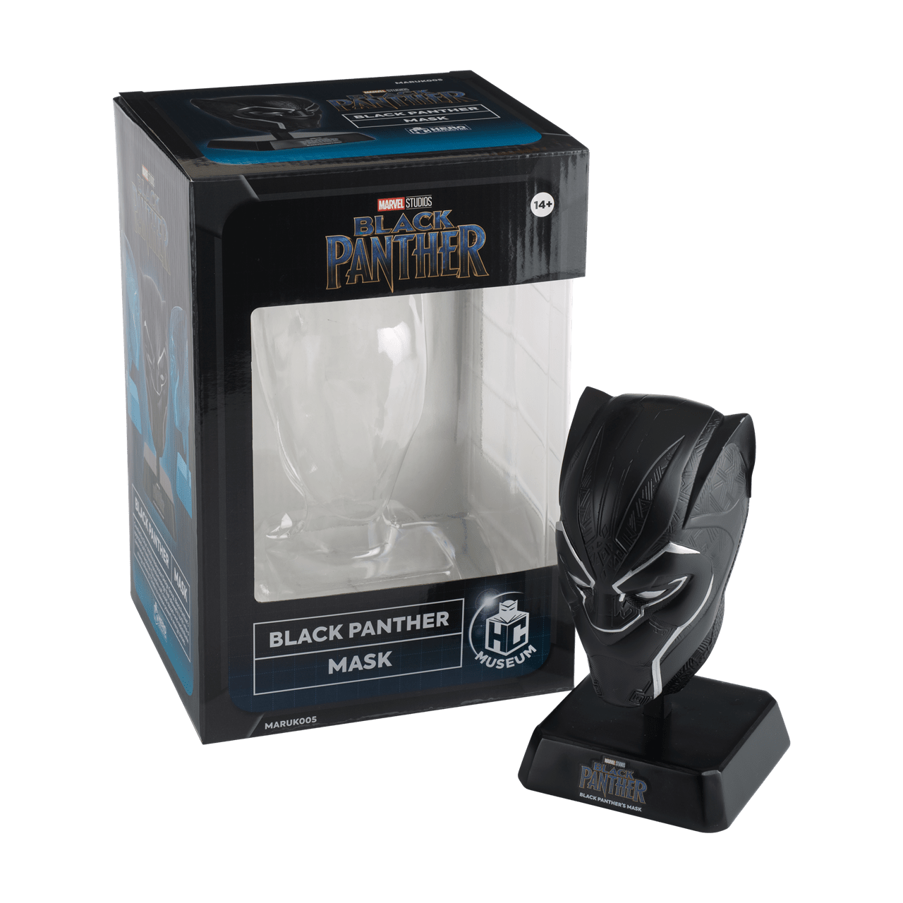 Black Panther Mask: Marvel Museum Replica Hero Collector - 5