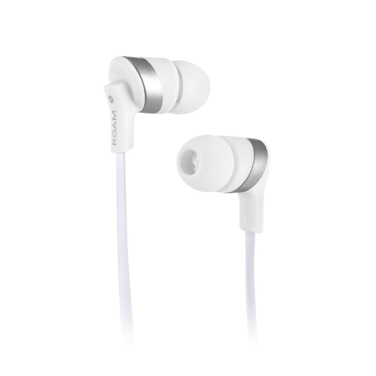 Roam Colours White Bluetooth Earphones (hmv Exclusive) - 1