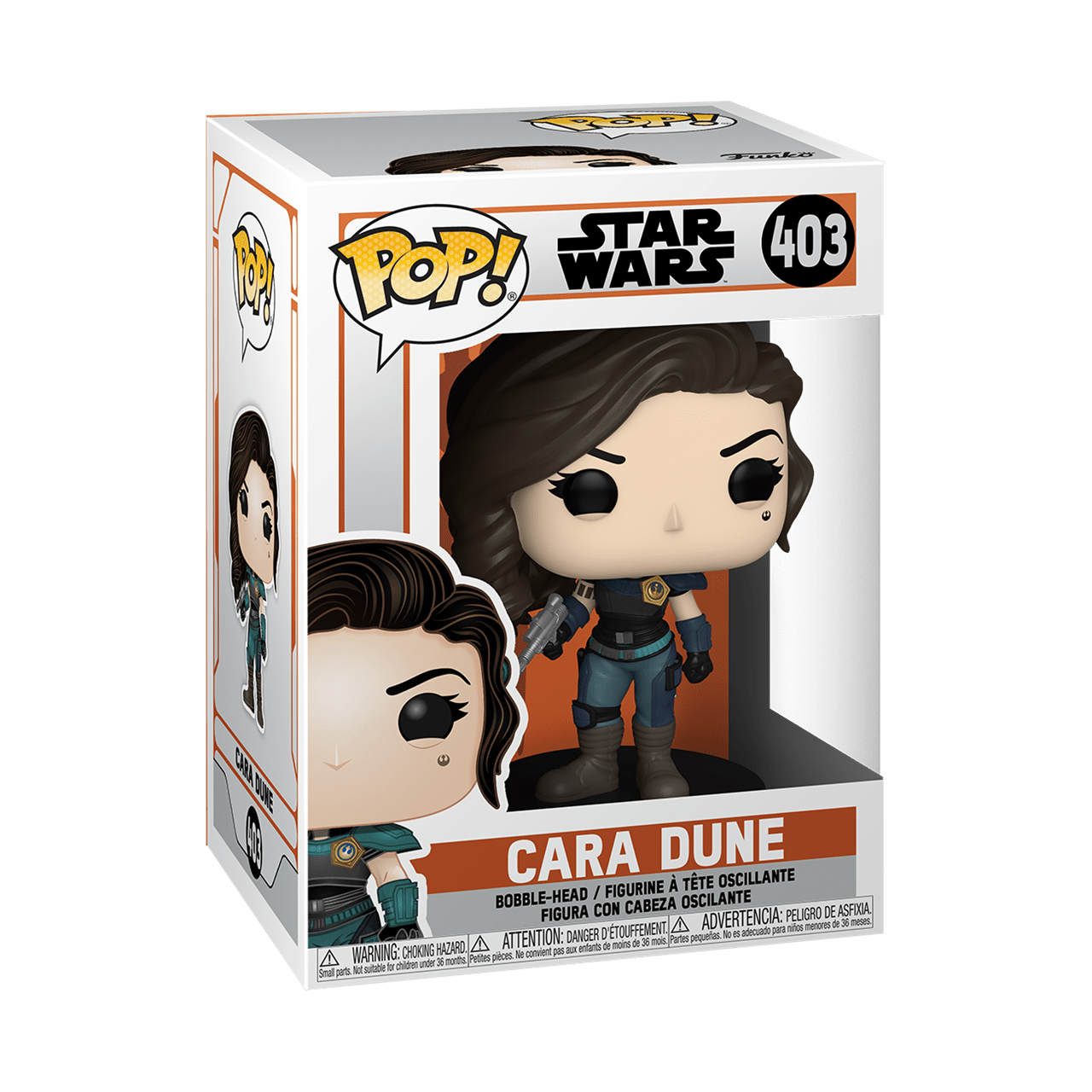 The Mandalorian: Cara Dune (403) Star Wars Pop Vinyl - 2