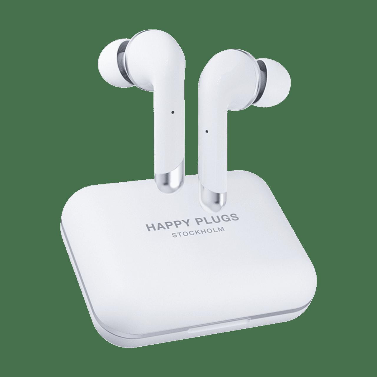 Happy Plugs Air1 Plus White In Ear True Wireless Bluetooth Earphones - 1