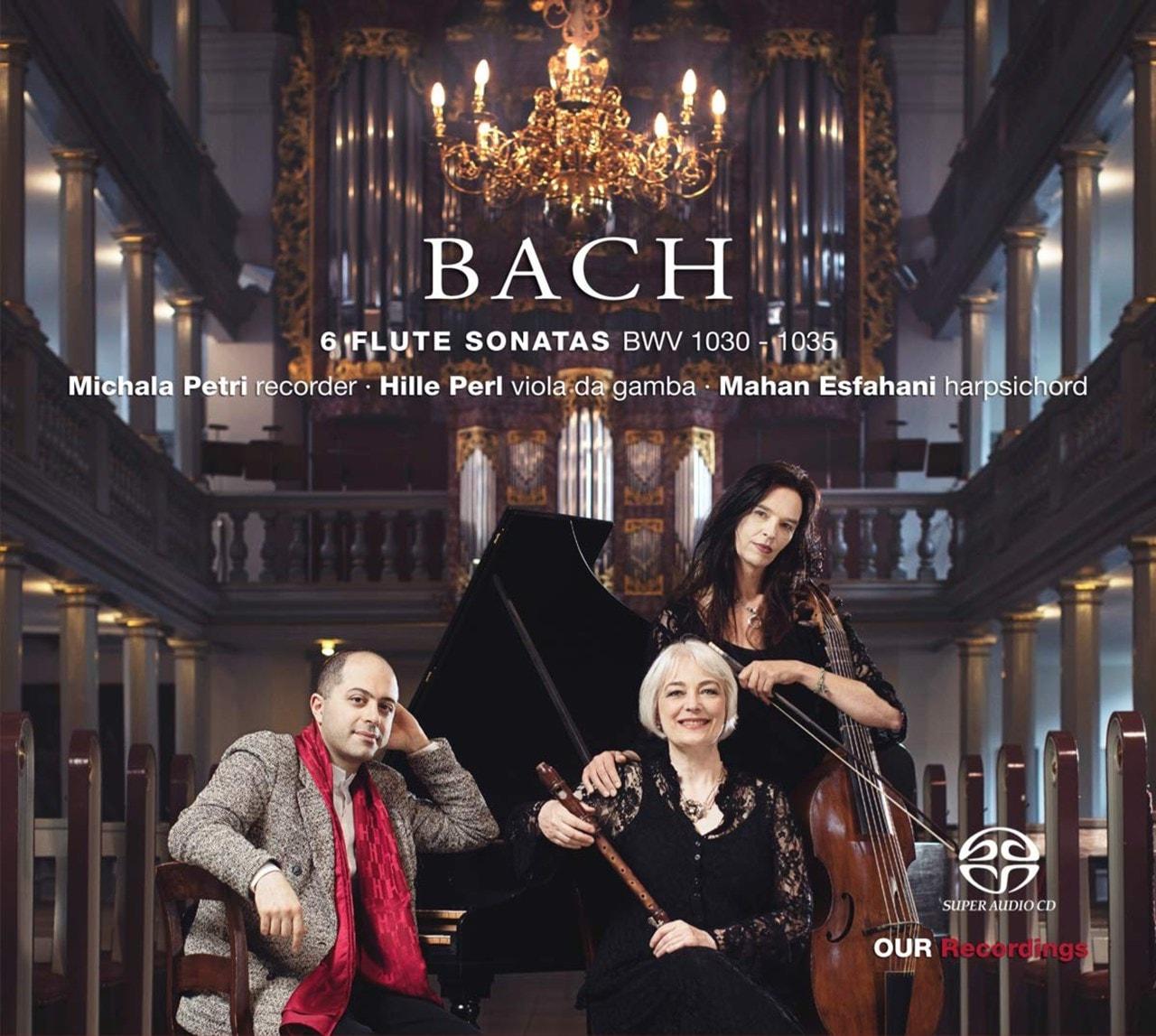 Johann Sebastian Bach: 6 Flute Sonatas, BWV1030-1035: Sonatas for Recorder, Harpsichord and Viola Da - 1