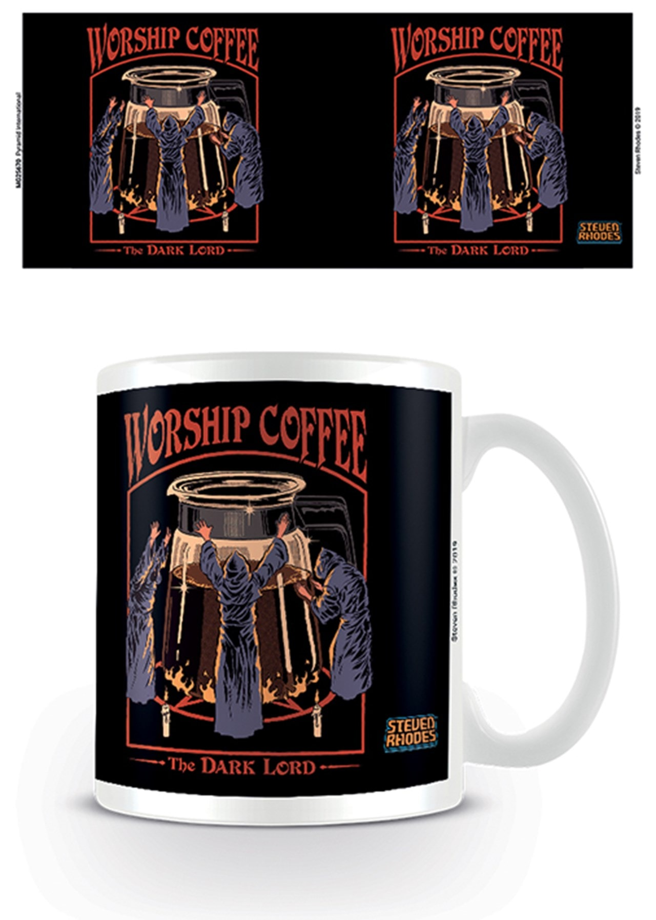 Steven Rhodes: Worship Coffee Mug - 1