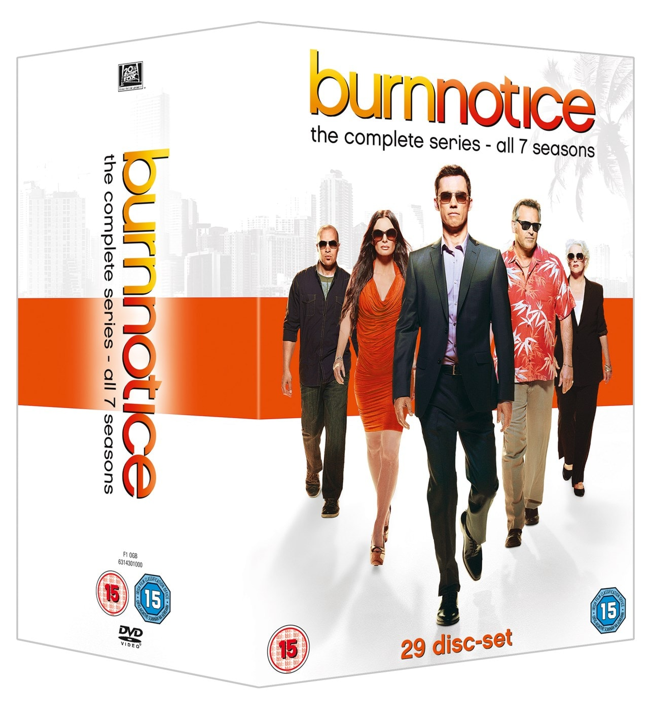 Burn Notice: The Complete Series - 2