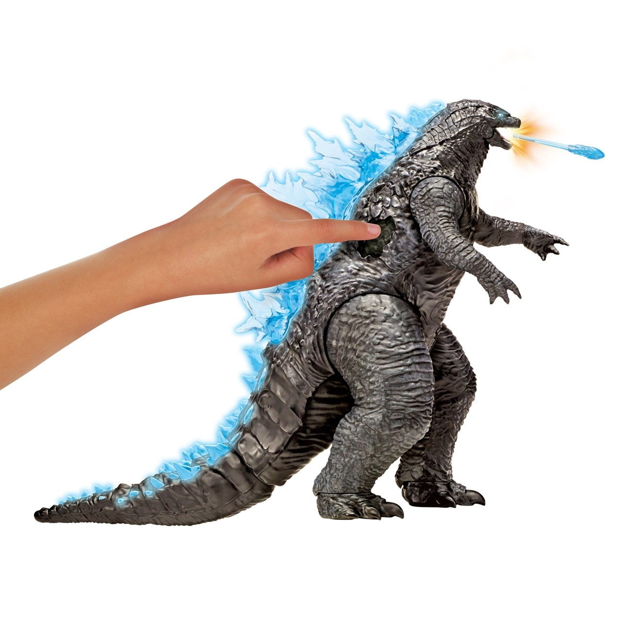 Monsterverse Godzilla vs Kong: Mega Godzilla with Lights & Sounds Action Figure - 2