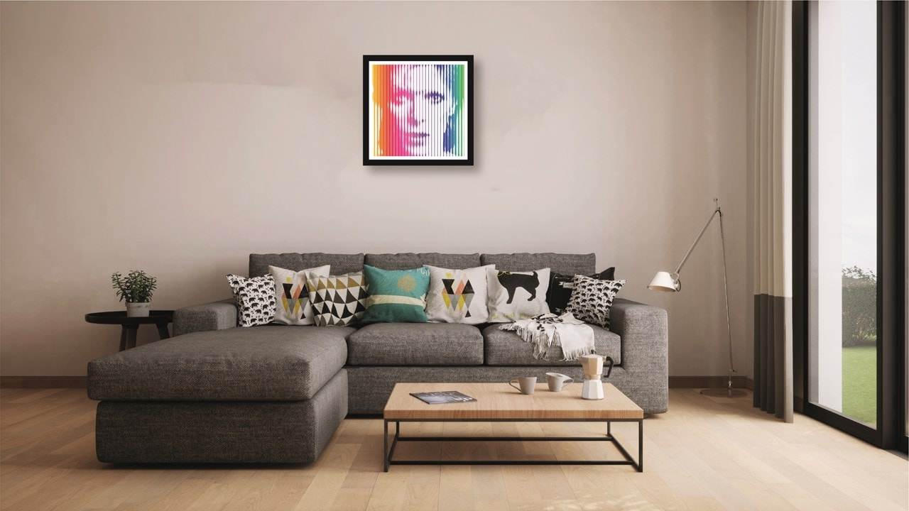 David Bowie: Rainbow: Limited Edition Fine Art Print By Veebee - 2