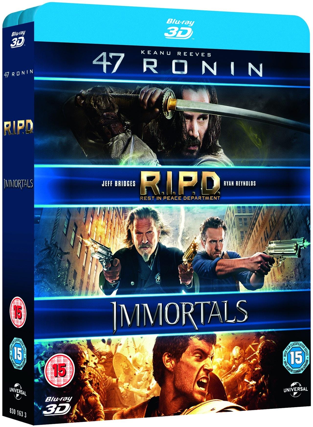 47 Ronin/RIPD/Immortals - 2
