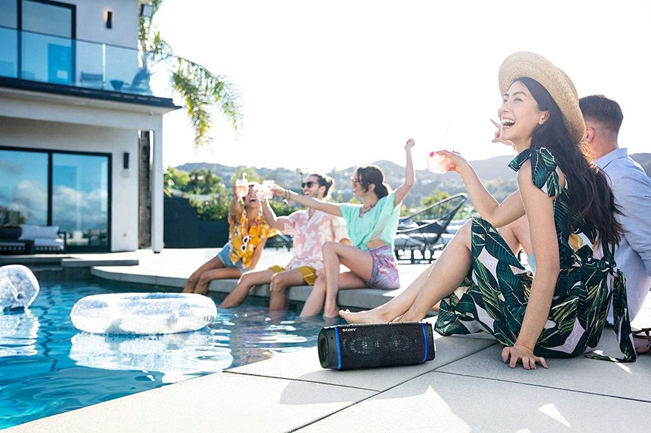 Sony SRSXB33 Cream Bluetooth Speaker - 5