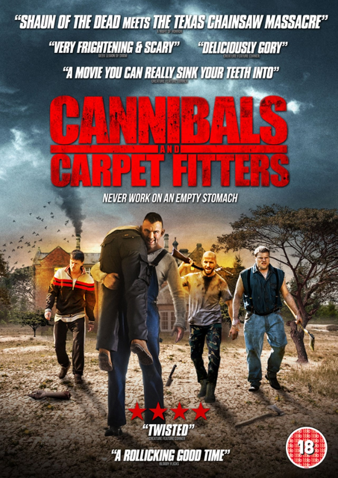 Cannibals and Carpet Fitters - 1