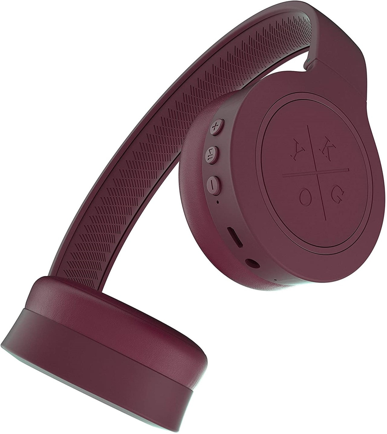 Kygo A4/300 Burgundy Bluetooth Headphones - 3