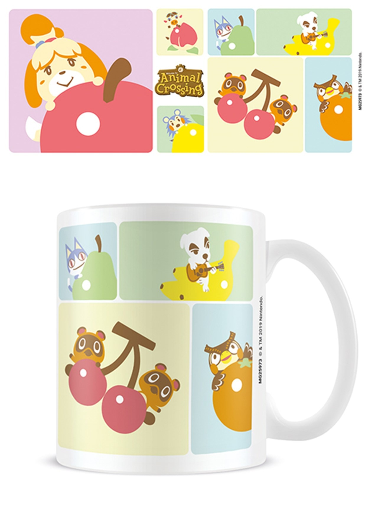Animal Crossing: Character Grid Mug - 1