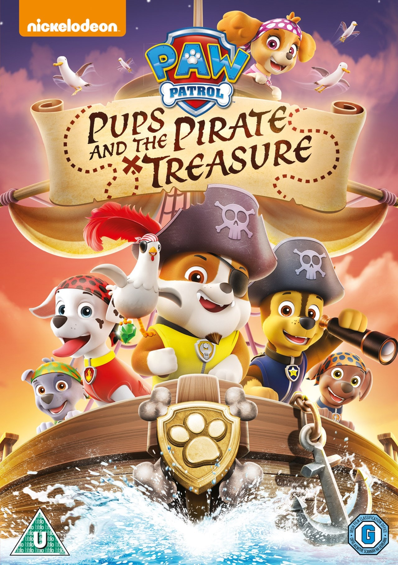 Paw Patrol: Pups and the Pirate Treasure - 1