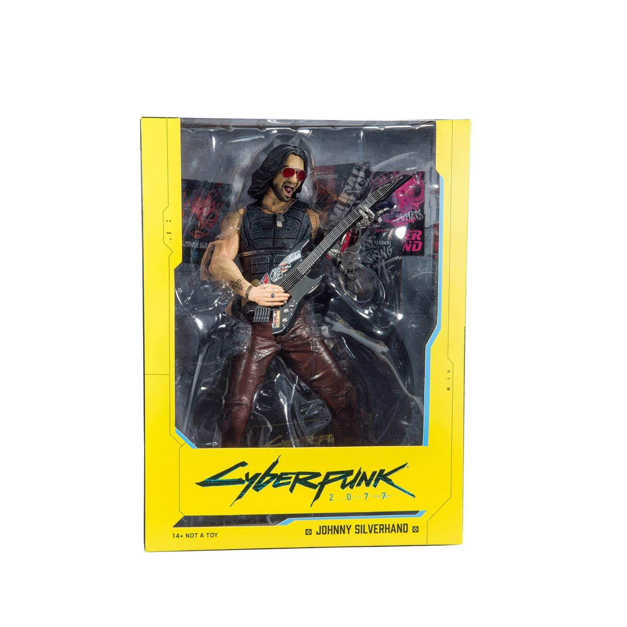 Cyberpunk 2077: Johnny Silverhand (Chrome Rock) Figurine - 4