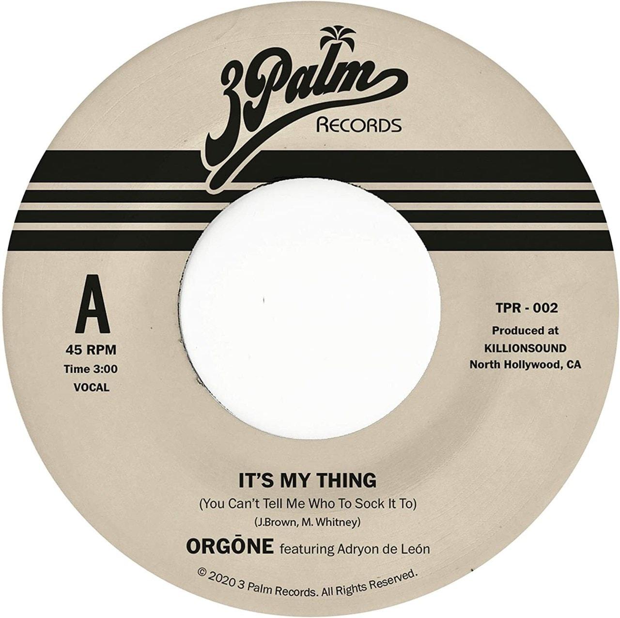 It's My Thing (You Can't Tell Me Who to Sock It To) - 1