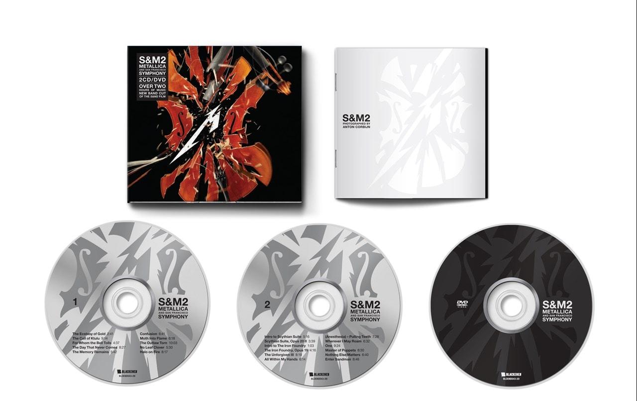 Metallica - S&M 2 - CD & DVD - 2