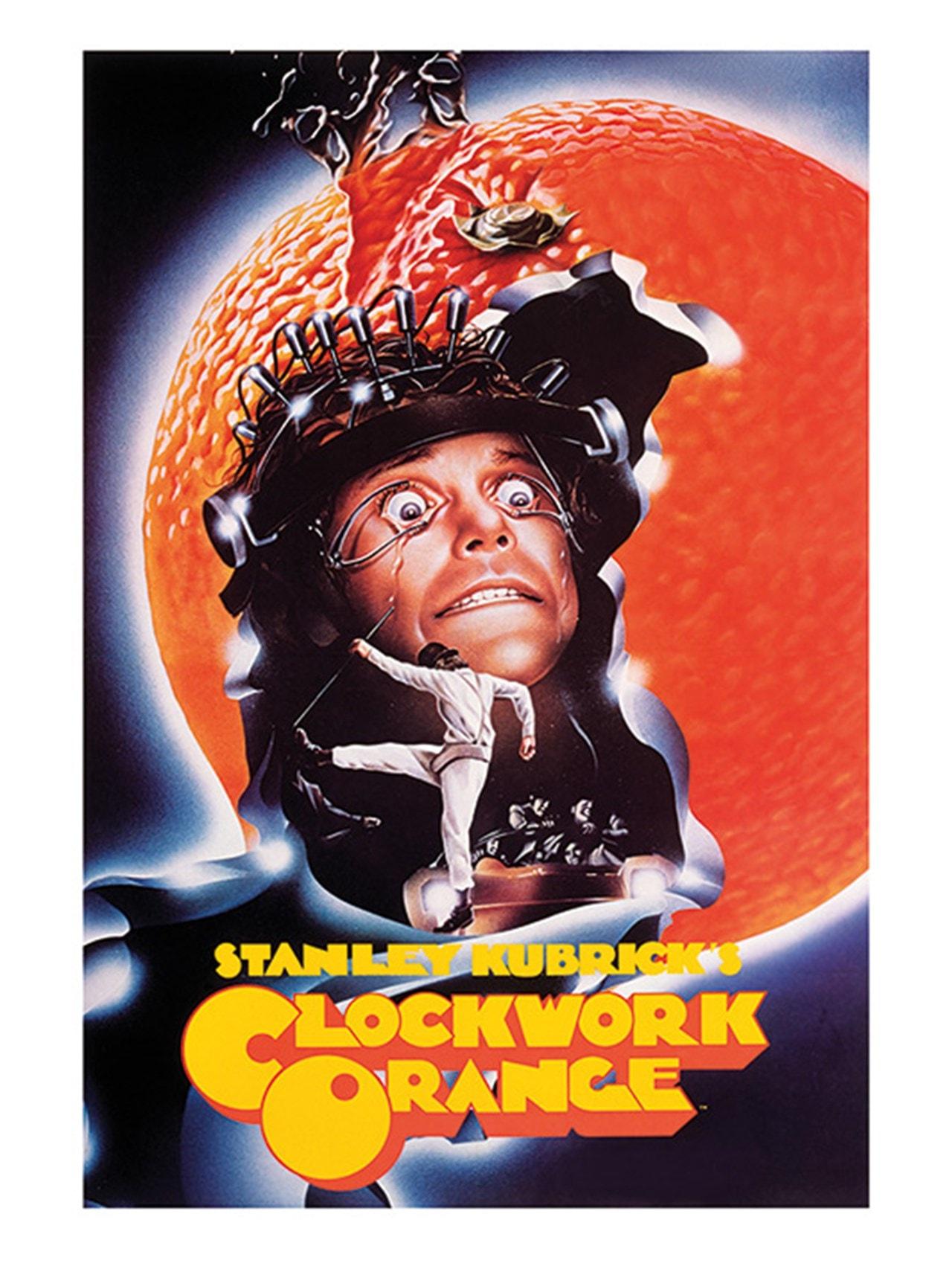 A Clockwork Orange: Peeling Canvas Print - 1
