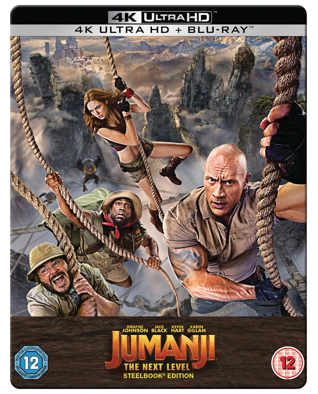 Jumanji: The Next Level Limited Edition Steelbook - 1