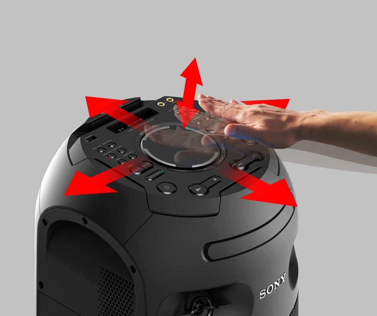 Sony MHCV42D High Power Bluetooth Audio System - 3